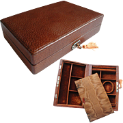 Super Quality Leather Jewelry Box: Travelling Box