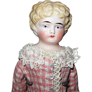 Blonde China Head 9""