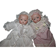 """A.M. Tiny Twin Dream Babies 8"""""""