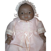 """Black African American Reproduction Bye-lo 14"""""""