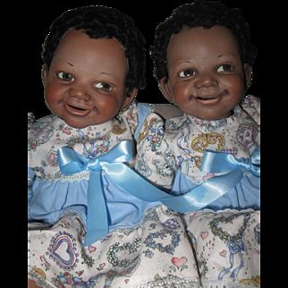 """Jane Bradbury's Moriah Twins 15"""""""