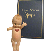 "R. John Wright Kewpie with box 8"" - Red Tag Sale Item"