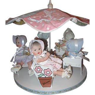 Madame Alexander 75th Anniversary Carousel #12230