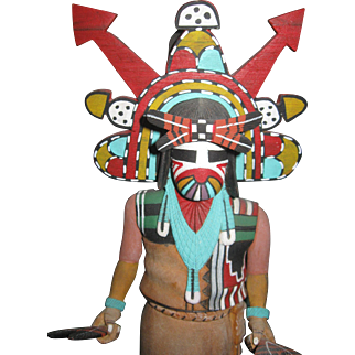 Kachina Doll Philman Harvey 13""