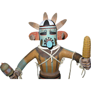 Kachina Corn Dancer Doll by George Hunch 11""