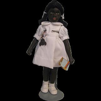 """Norman Rockwell """"Little Black School Girl"""" 11"""""""