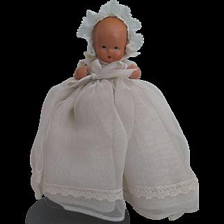 "Nancy Ann Story Book Baby Doll 4"""