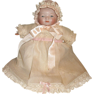 Pink organdy doll outfit