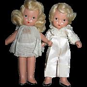 """Nancy Ann Story Book RARE Margie Ann & Little Boy Blue 5"""""""