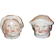 Early Staffordshire Money Box Heads