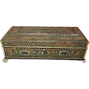 Georgian Vizagapatam Box