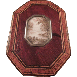 Lovely early Snuff or Table Box 1775
