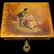 French Vernis Martin Box - 19th Century Jewel