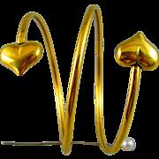 Vintage Heart bracelet.