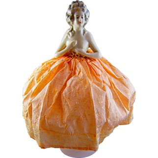 Vintage China Head Doll