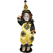 Miss Clown Doll - 16 Inches tall - Very good condition 1930s to 1940s