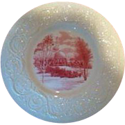 Smith College Wedgwood Dinner Plate - Observatory