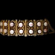 Vermeil Coral Bracelet