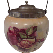 English Biscuit Barrel/ Cracker Jar