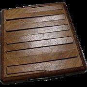 Vintage Spring-Loaded Cigarette Box