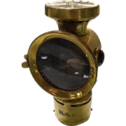 Brass Neverout Auto, Motorcycle, Cycle Lamp