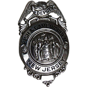 New Jersey Deputy Fish and Game Warden Badge
