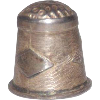 Nice Taxco Sterling Silver Thimble
