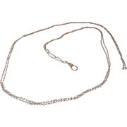Lovely Ladies 10 kt Rose Gold Watch Chain