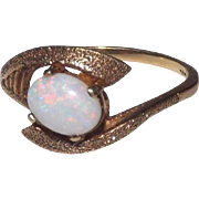 14 kt Yellow Gold Opal Ring