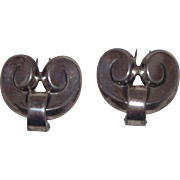Beautiful Sterling Silver Fur Clips