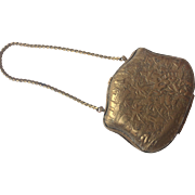 Original brass purse for French Fashion doll