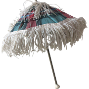 Wonderful and rare Huret parasol by Madame Farge