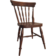 Charming vintage doll chair