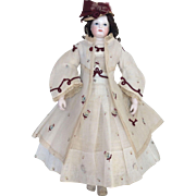 Stunning summer costume for Huret or other poupee enfantine
