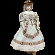 Unique summer dress for Huret or other poupee enfantine