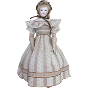 Adorable summer dress for Huret or other poupee enfantine