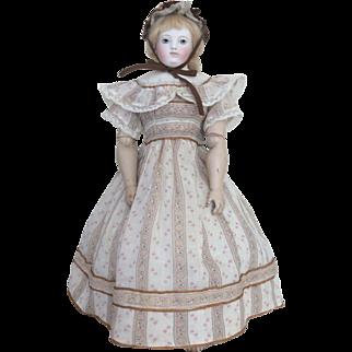 Adorable summer dress for Huret or other poupee enfantine