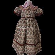 Superb dress for enfantine poupee, Huret, Rohmer