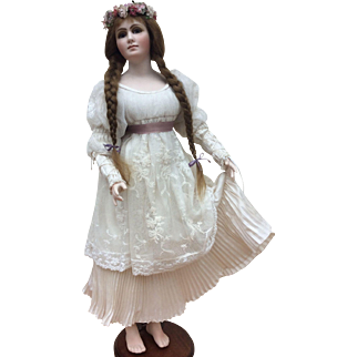 Amber, limited edition porcelain doll by Gillie Charlson
