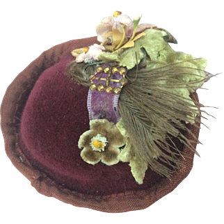 Adorable little derby for Huret or French Fashion 17-18""