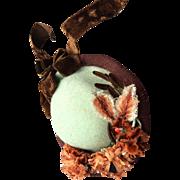 Delightful antique hat for French Fashion or Huret