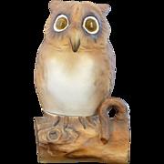 Noritake Owl Figural Fairy Lamp