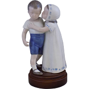 Bing & Grondahl Love Refused  1614  Porcelain Figurine