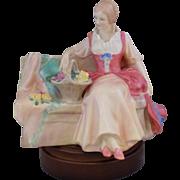 "Vintage Royal Doulton HN 2033 ""Midsummer Noon"" Bone China Figurine"