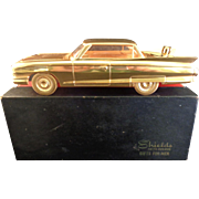 Shields Fifth Avenue 1960 Cast Metal Cadillac Desk Holder with Lighter
