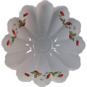 Limoges Cadeaux 3 Footed Fluted Bowl