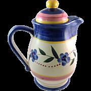 Vintage Ceramica Yapacunchi Ecuador Lidded Pot