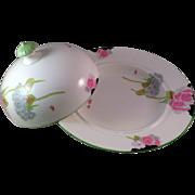 Vintage Paragon English Art Deco Lidded Soup Bowl