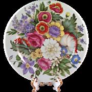 """Vintage Limoges France """"Romance"""" Dessert Plate"""
