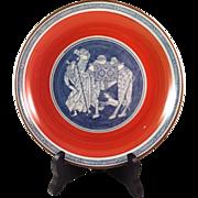 Vintage Japanese Andrea by Sadek Porcelain Plate